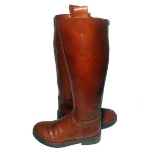 Rag & Bone Brown Leather Riding Boots Size 7.5